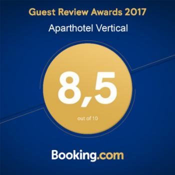 Rating on Booking.com rise up to 8,5!