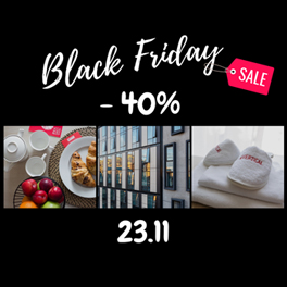 40% в Black Friday