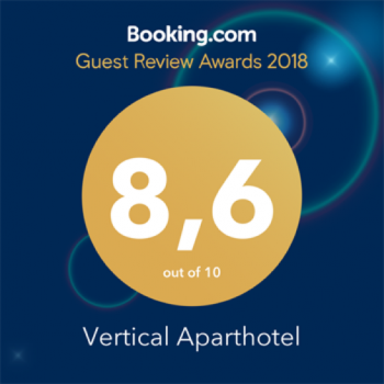 RATING ON BOOKING.COM REACHED 8.6!